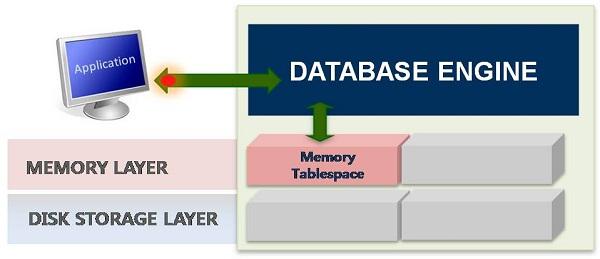 MMDBMS(Main Memory DBMS)의 구조