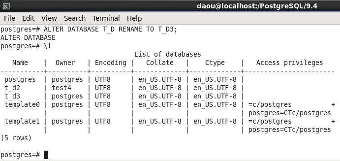 PostgreSQL-DATABASE