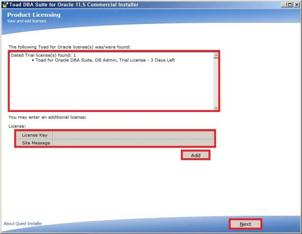 Toad for oracle license cost