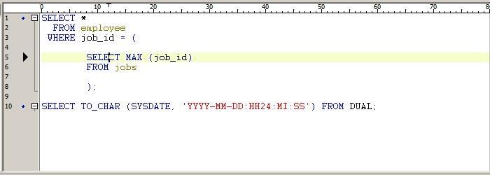 SQL 실행하는 방법