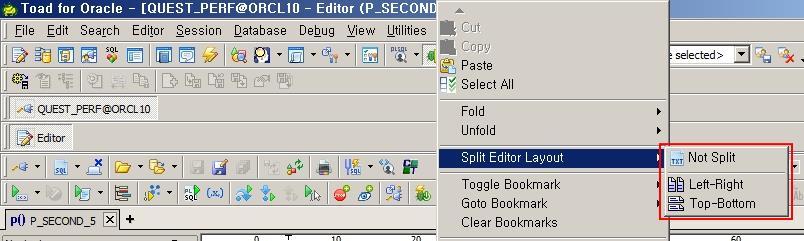 Editor 화면 나눠서 사용하기