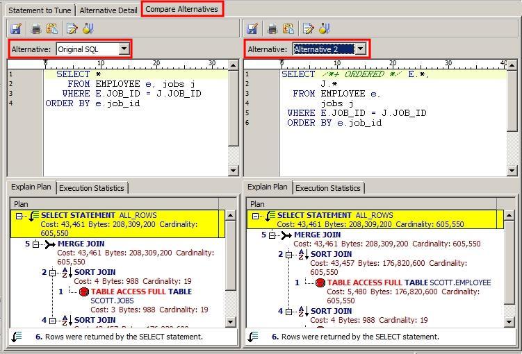 Toad Auto Optimize SQL