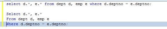 Toad Editor 편의 기능